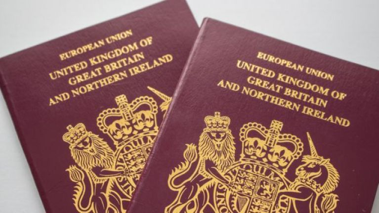 first british passport application online