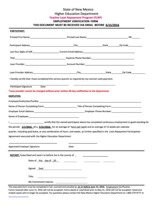 perkins loan forgiveness application form