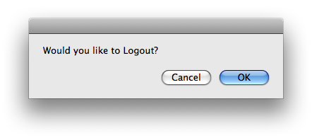 finder you can cancel or stop application