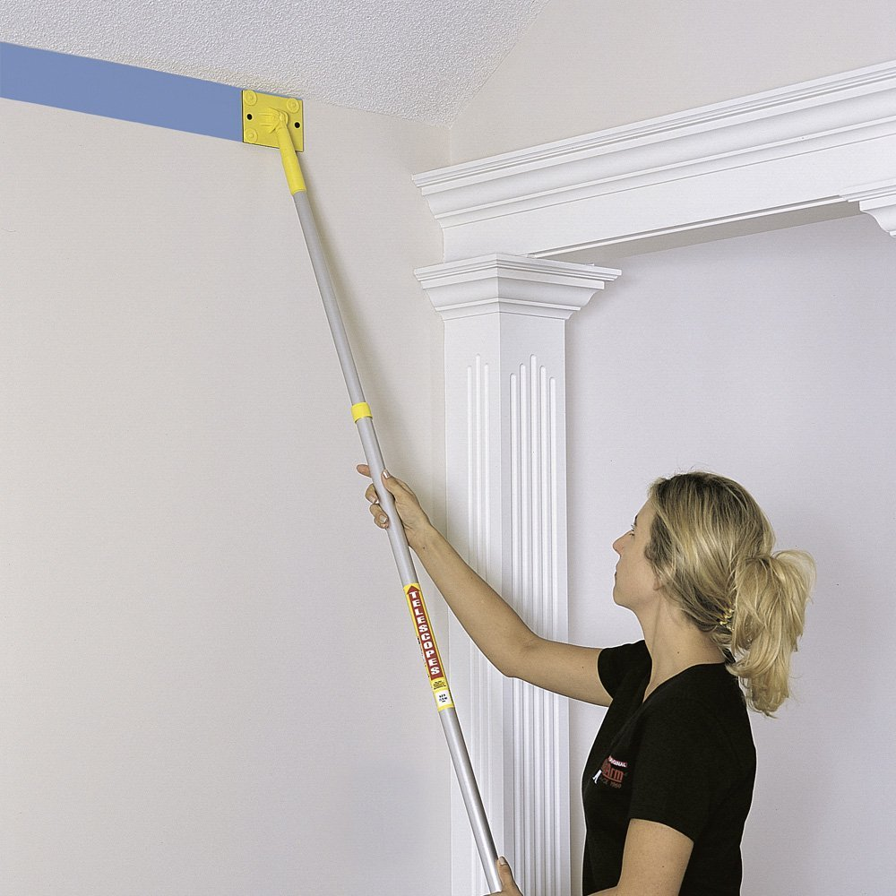 appliquer teinture au plafond sans trace