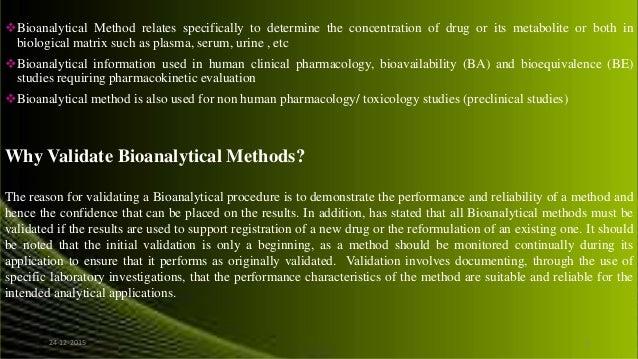 bioequivalence studies in drug development methods and applications