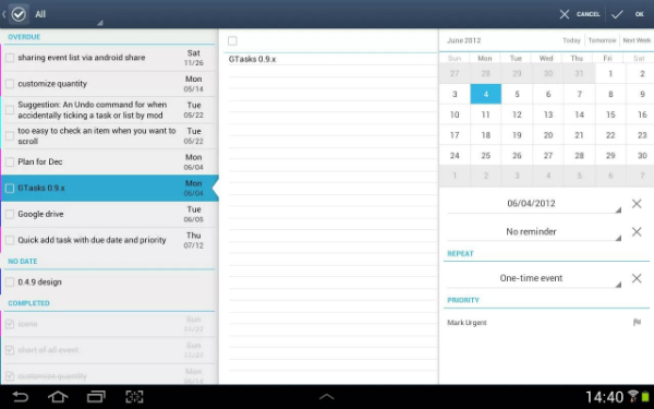 application prendre des notes android