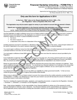 fsco forms application for mediation
