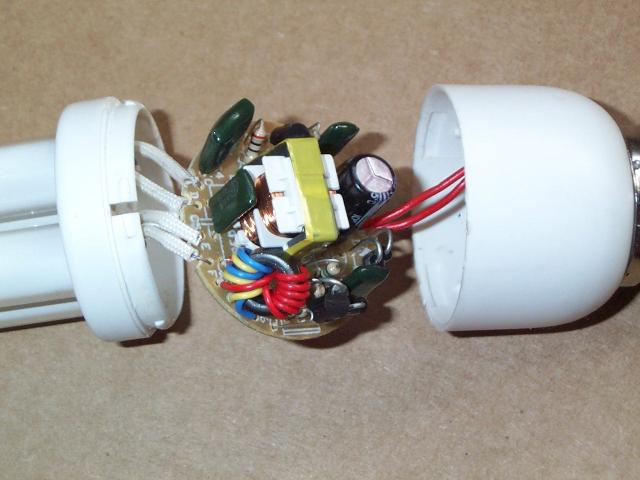application of compact fluorescent lamp