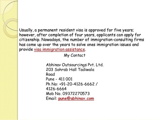 permanent resident application status australia