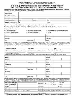city of vernon sign permit application