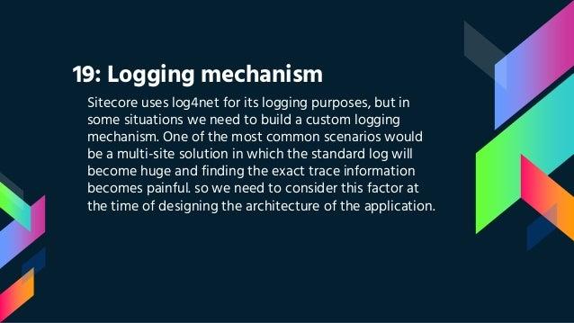 error logging using log4net in web application