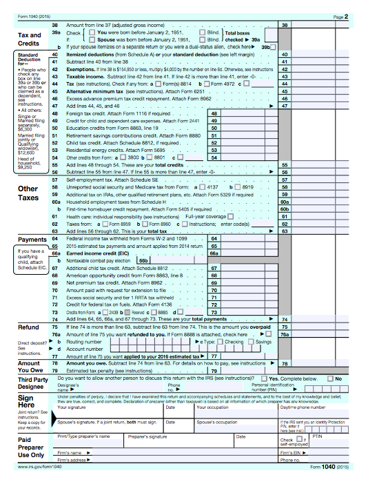 family tax benefit application form 2015