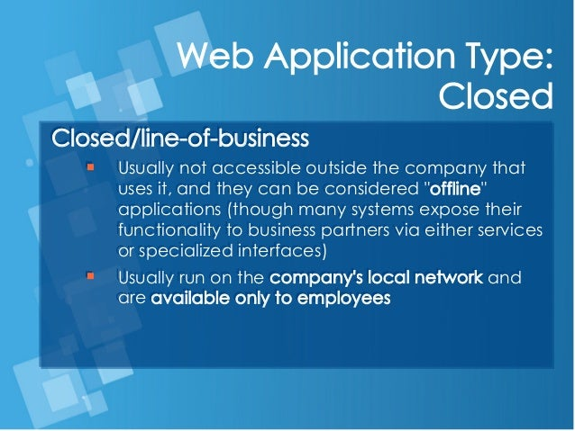 categories of web applications in web engineering