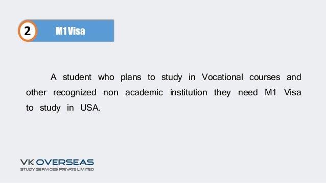 m1 student visa application form
