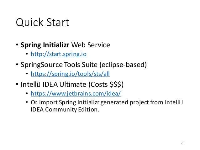 intellij idea community edition web application