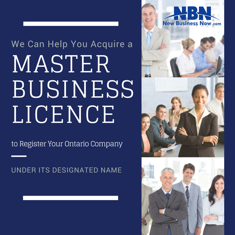 master business licence application ontario