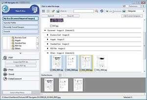 mp navigator ex v 3.11 scanner application