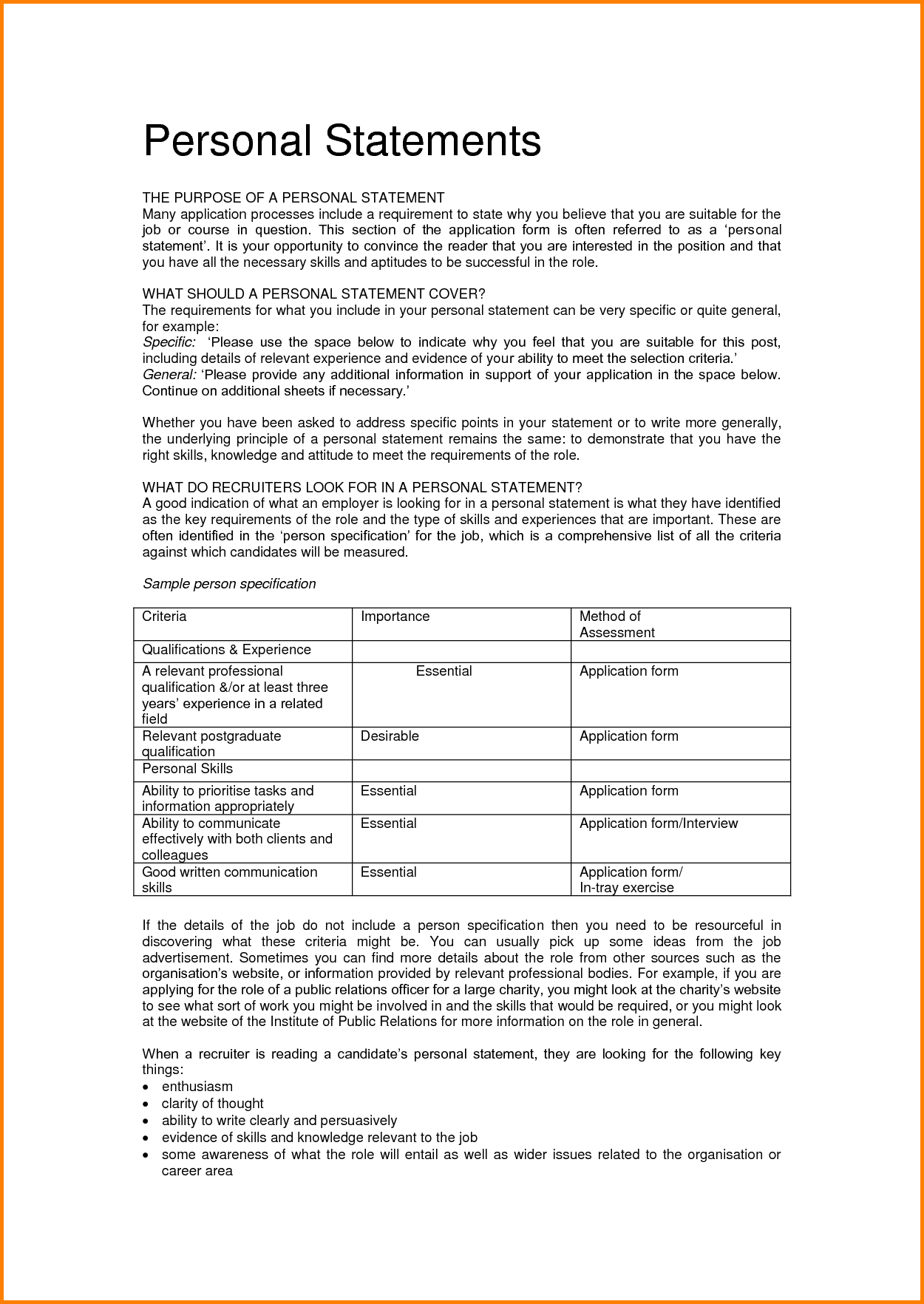 starting position meaning job application