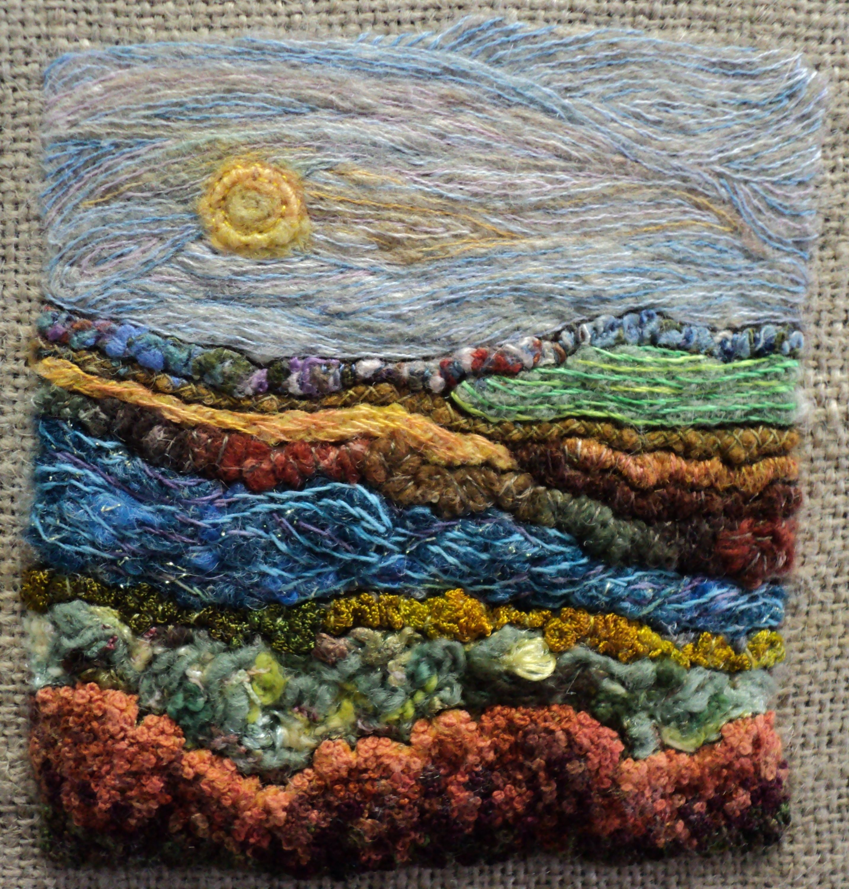 applique needle felting projects free