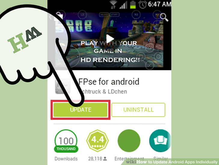 how to block application update on android