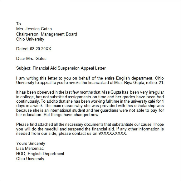 appeal rejection of self employed application