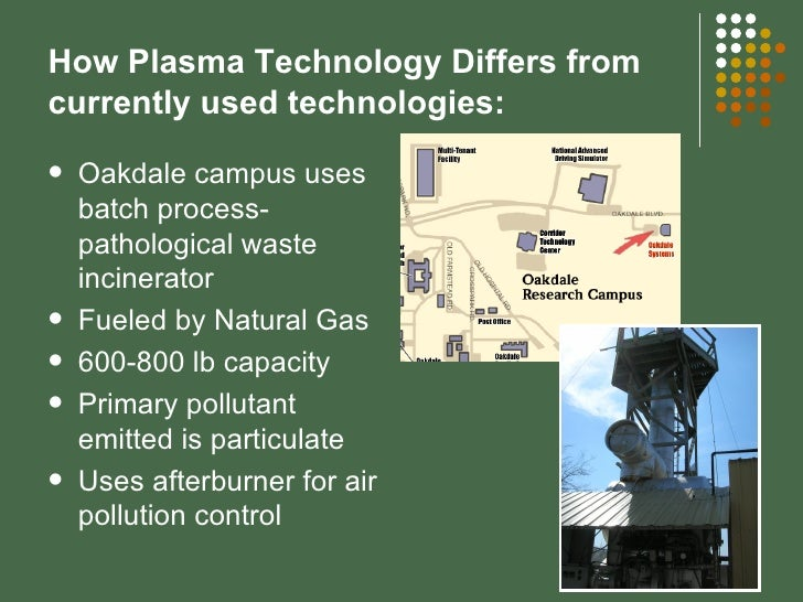 application of thermal plasma technology