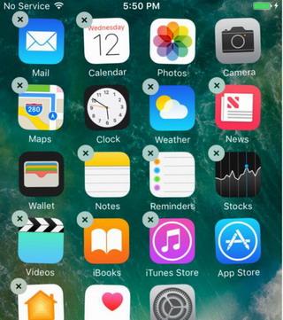 comment desinstaller application sur iphone 6