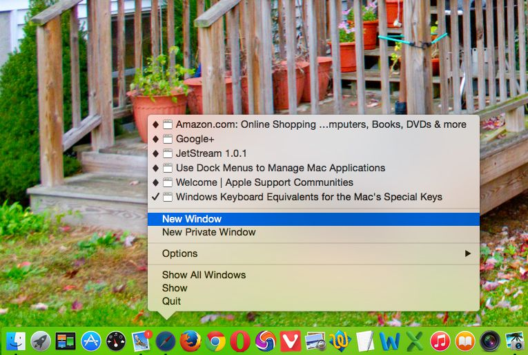 how to delete applications on mac dock
