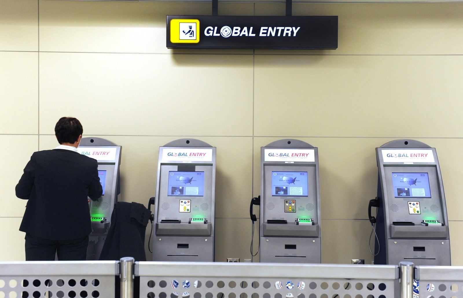global entry application passport card