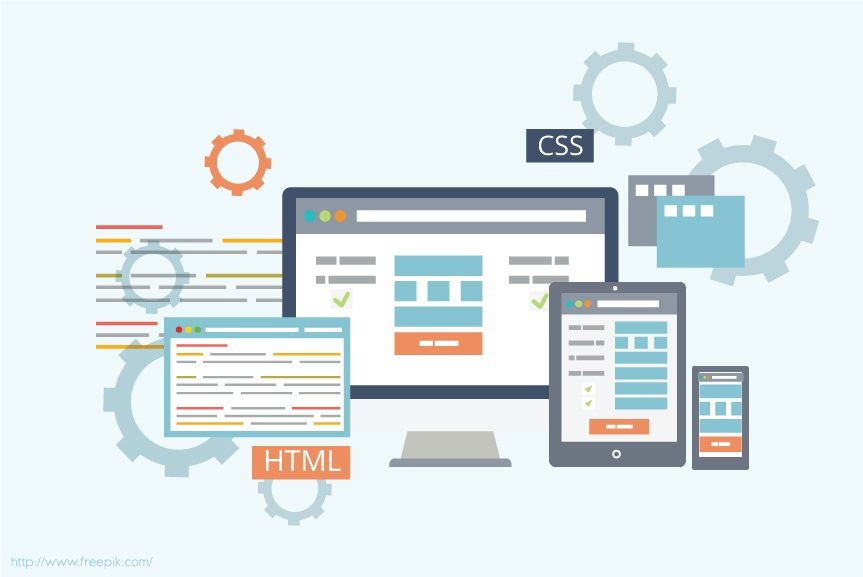 design a web application user interface