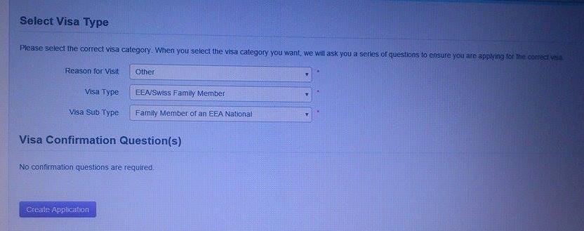 eea family permit application form 2015