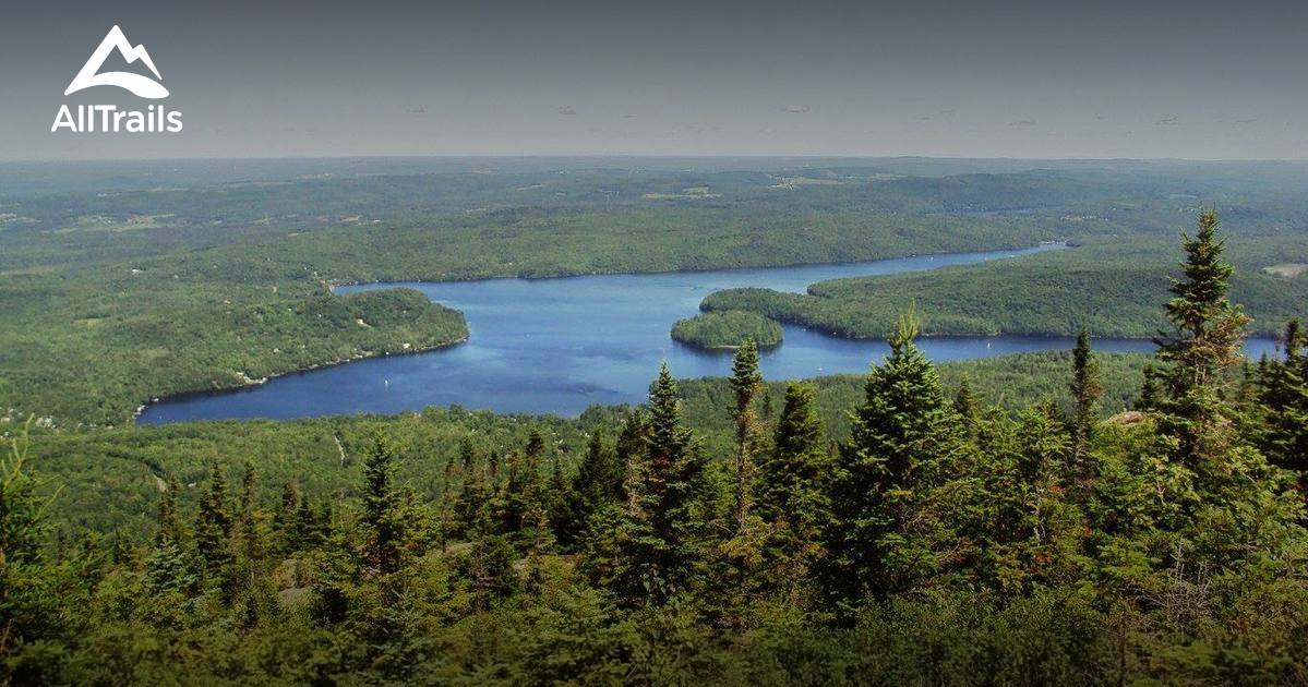 hiking trails in applications quebec