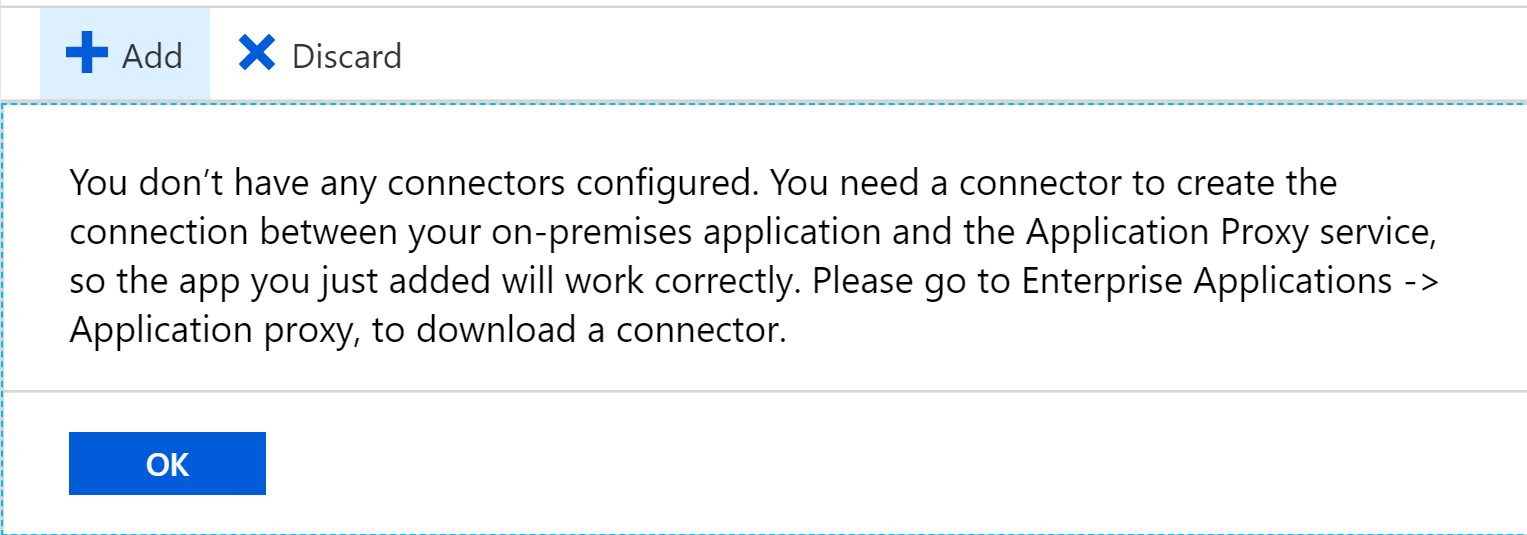 how to connect application from proxy