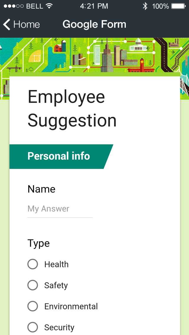 how to design my own mobile application
