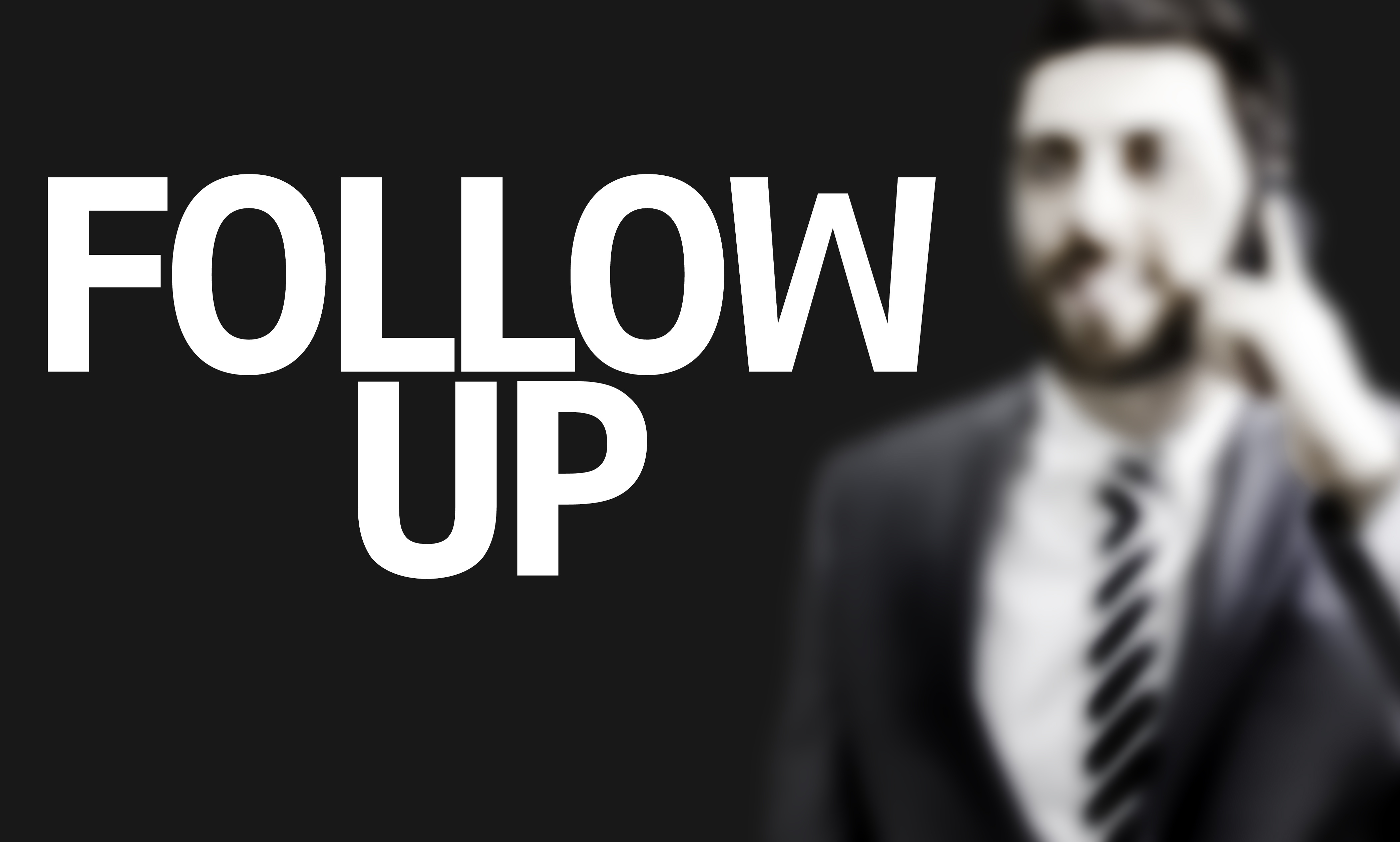how to follow up law firm application