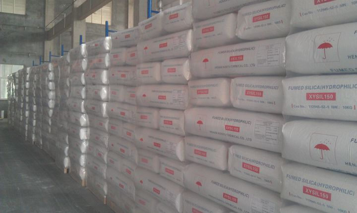 hydrophobic fumed silica for marine applications