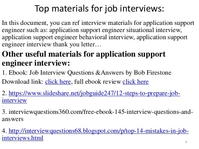 interview questions for iis application support