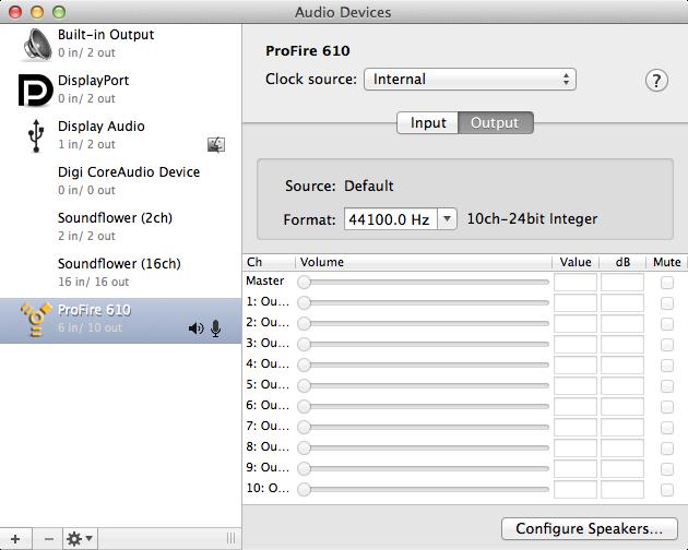 line 6 audio-midi devices application