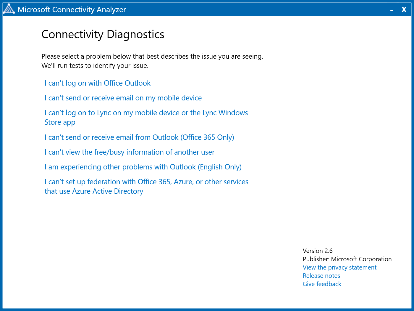 measure tools linea application desktop