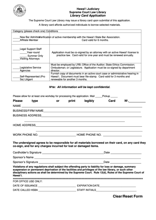 pardon application court information form