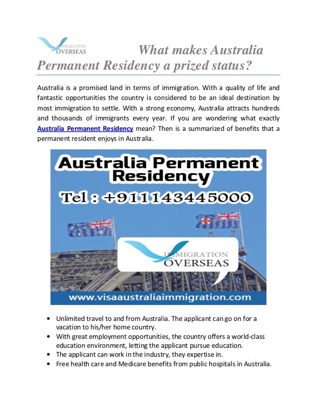 permanent residency application status australia