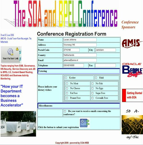 register application ispim java register-first-instance