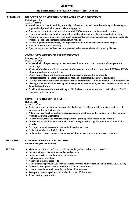 resume for residency application sample