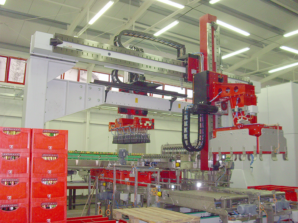 what are the major applications of robotic handling