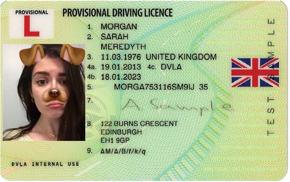 where to send provisional driving licence application