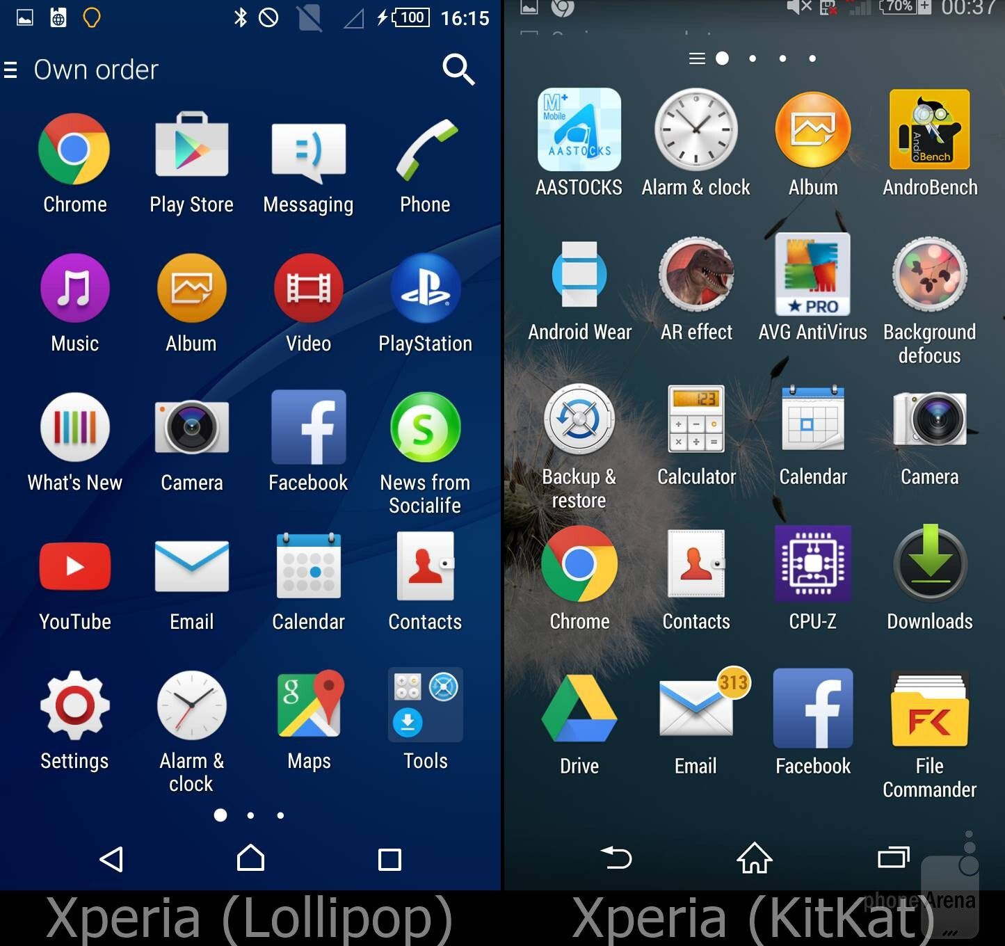 worst applications on android lollipop