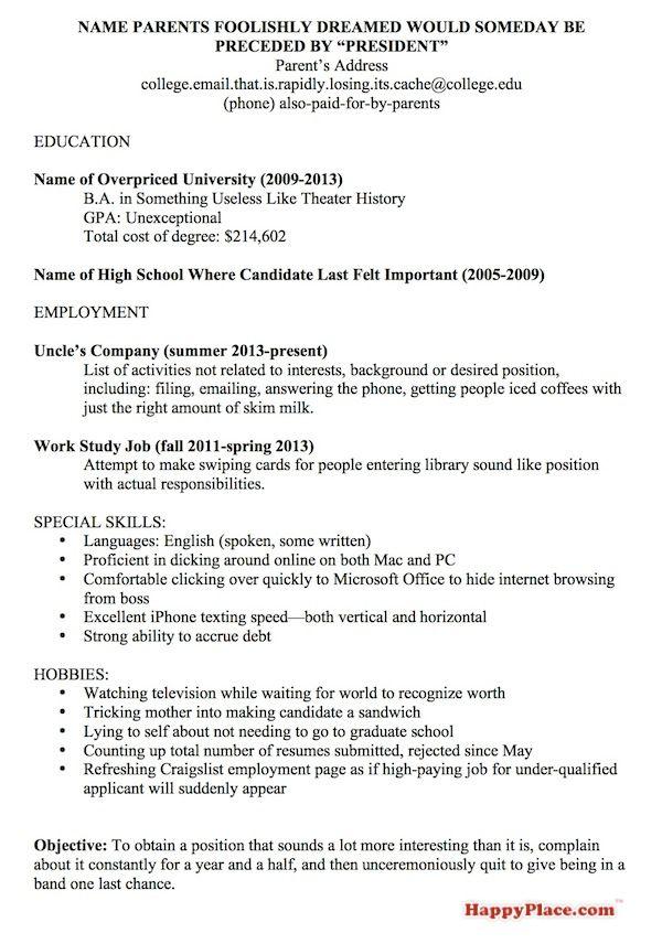 write cv for grad school application
